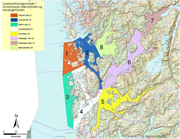 bjørnefjorden kart Forskrift om sone for å forebygge og bekjempe lus i  bjørnefjorden kart
