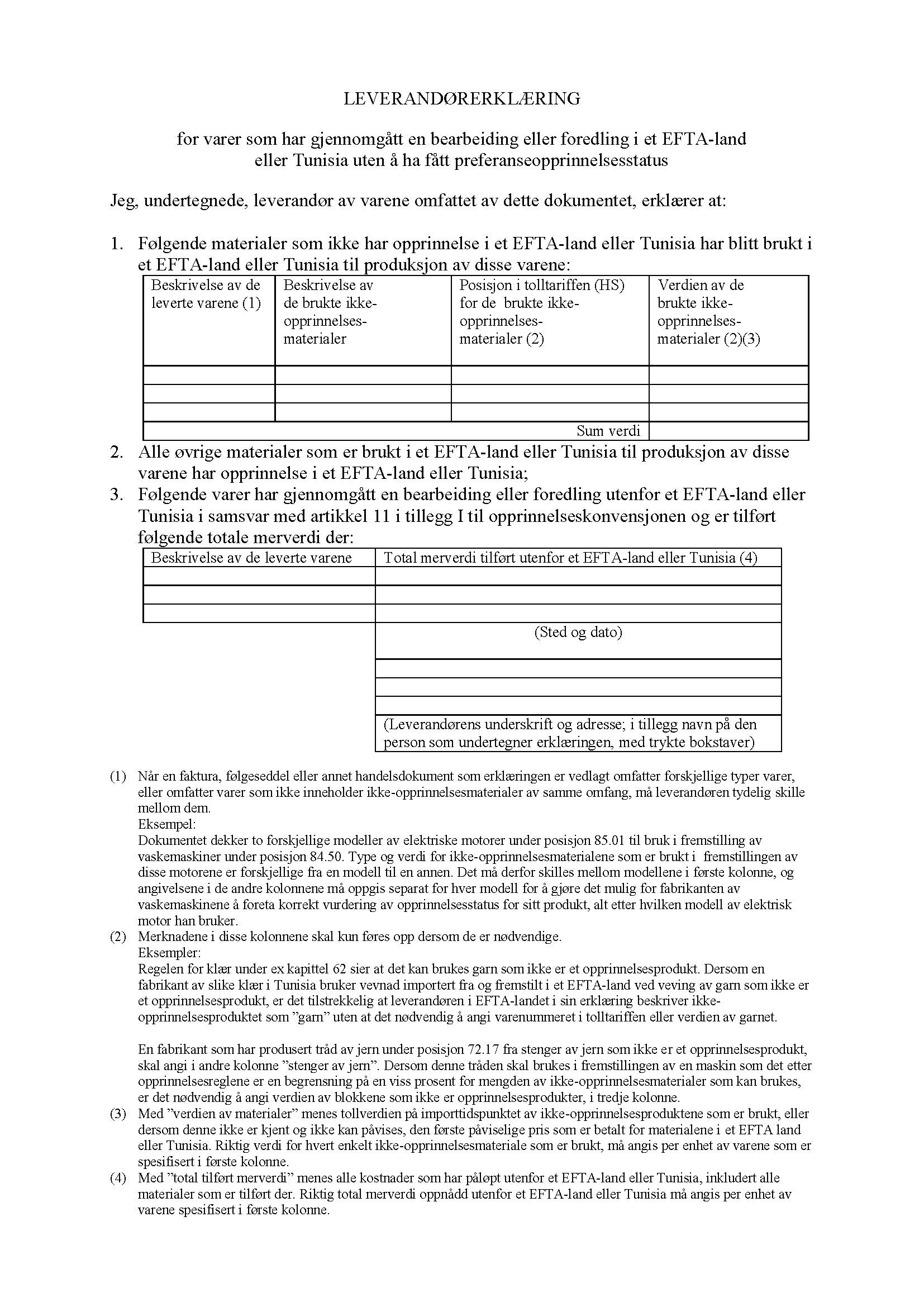 0b6d091a Regional konvensjon om felles preferanseopprinnelsesregler for ...